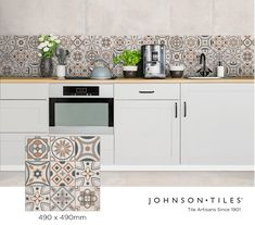 Johnson Tiles, Tile Manufacturers, Elements Of Style, Wall And Floor Tiles, Glazed Ceramic, Tile Design, Creativity, Kitchen Cabinets, Faces