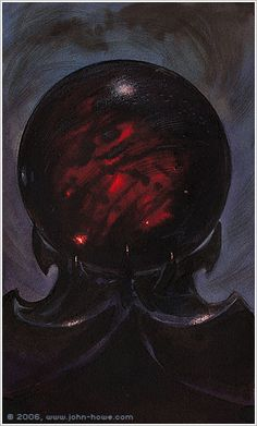 Saruman's Palantir by John Howe