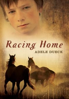 Racing Home by Adele Dueck.  It's 1908, and twelve-year-old Erik faces the challenges of adapting to pioneer life on the Canadian prairie and understanding what's really going on in his family.