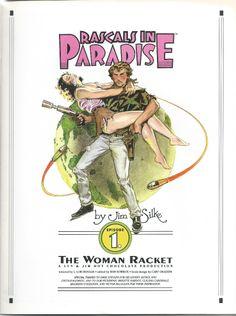 Jim Silke - Rascals in Paradise -1 , The Woman Racket  (1994)