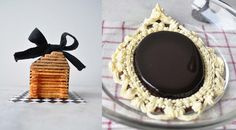 Coconut Tuiles House | Mirror Chocolate Mousse