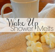 Need a little something to get you going in the morning? These little shower melts use the power of essential oils to help you wake up and feel refreshed!