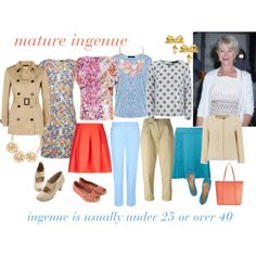 mature ingenue by expressingyourtruth on Polyvore featuring мода, Jaeger, MaxMara, Erika Cavallini Semi-Couture, Aventura, Accessorize, Charlotte Olympia and Vintage