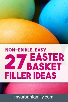 I know parents are on the lookout for Easter basket filler ideas that are small, but not going to induce a sugar craze. So I'm compiled a list of ideas with links!