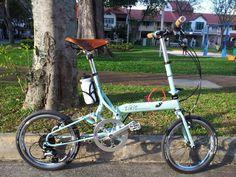 Bike Friday tikit Bike Friday, Motorized Bicycle, Brompton, Bike Stuff, Cool Bikes, Quad, Cycling, Adventure, City
