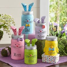 You'll be amazed how quickly these adorable little figurines will put everyone in the Easter spirit!