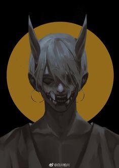 Dark Fantasy Art, Dark Art, Manga Art, Anime Art, Character Art, Character Design, Boy Art, Horror Art, Art Inspo