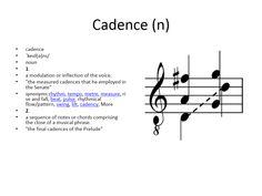 cadence #gre #cat #vocabulary