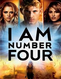 I am number four. Words can't describe how much I LOVE this movie and the book series!!!!!!!!!!