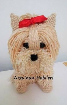 Amigurumi Yorkie Tutorial Pattern Novice Sandy on Knitting Paradise found this absolutely adorable pattern for an Amigurumi Yorkie. The only problem is the pattern is incomprehensible. I think it was originally written in Japanese and the translation is really bad. Fortunately, I have crocheted some amigurumi patterns using the Japanese chart method so I get what's …