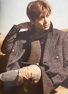 "Lee Min Ho, ""Here"" photobook scan. Lee Min Ho Photos, James Lee, New Actors, Hallyu Star, Man Lee, Kdrama Actors, Boys Over Flowers, Upcoming Movies, Korean Model"