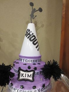 Cheerleading cake for CHS