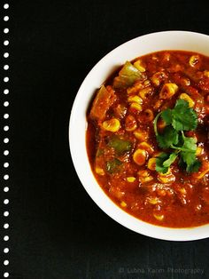 Creamy Corn-Capsicum Curry @ http://kitchenflavours.blogspot.in/2012/04/creamy-corn-capsicum-curry.html