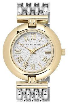 Anne Klein Round Bracelet Watch, 27mm available at #Nordstrom