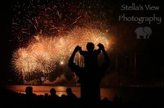 Stella's View Photography  #Windsor #Detroit #Fireworks #FourthOfJuly #CanadaDay #Canada #USA #Favourite #Father #Son #Watching