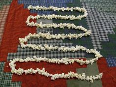 Hand Strung Old Fashioned Popcorn Only by AWorldtoEmbellish