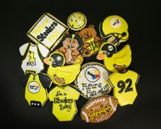 Steelers baby shower favors