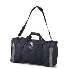 5 Cities/Frenzy Ultra Lightweight Cabin Size Carry on holdall -RyanAir Approved Flight/Weekend/Overnight Bag (55x40x20mm) Large 32L Capacity, Ripstop Material, Optional Shoulder Strap. (Black) 5 Cities http://www.amazon.com/dp/B006QW7EKU/ref=cm_sw_r_pi_dp_9k5zvb1XH5FZS