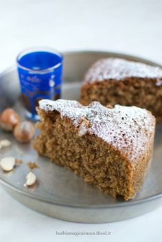 torta integrale caffe e nocciole Stevia, My Favorite Food, Favorite Recipes, Light Cakes, Plum Cake, Healthy Cake, Healthy Desserts, Love Food, Sweet Recipes