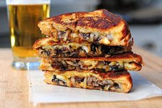 Grilled Cheese with Gouda, Roasted Mushrooms and Onions | Tasty Kitchen: A Happy Recipe Community!