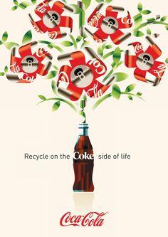 Coca-Cola Posters by Tobias Ambs-Thomsen, via Behance