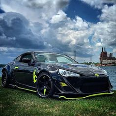 Fine fitment always makes a nice scenery just a little bit better. ☁ Owner: @redted  #Scion #car #cars #love #jdm #sportscars #rawdriving #life #carsofinstagram #hellaflush #dope #camber #fitment #carporn #gt86 #rocketbunny #frs #scionfrs #dailydriven #toyota #stance #stancenation #static #drive #sciononly #skyporn #scenery
