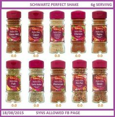 Spices astuce recette minceur girl world world recipes world snacks Slimming World Eating Out, Slimming World Syns List, Slimming World Syn Values, Vegan Slimming World, Slimming World Treats, Slimming Word, Slimming World Recipes Syn Free, Slimming Eats, Piri Piri