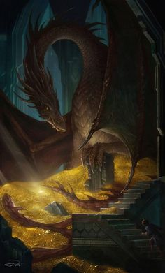 The Hobbit : The Desolation of Smaug by Yuming Yin