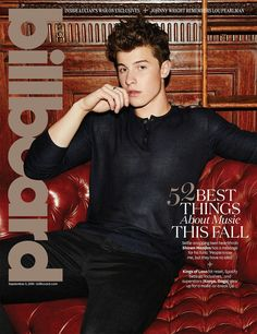 Shawn Mendes for Billboard Magazine ( August 2016 )