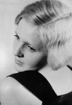 Eva Braun, 1934. This image was included in pages of Eva Braun's photo albums and cataloged as such when I viewed and photographed it in the National Archives.