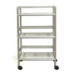Amazon.com: Salon Trolley Cart HAIR Barber Beauty Salon Equipment Storage Rollabout Shelves: Health & Personal Care