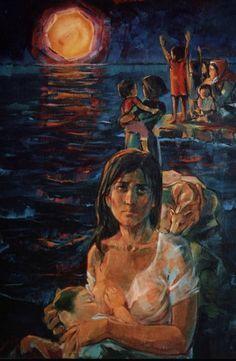 Palestinian artist: Ismail Shammout