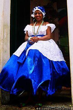 Salvador da Bahia, traditional dress