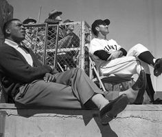 1961. Spring training. Willie chilling.