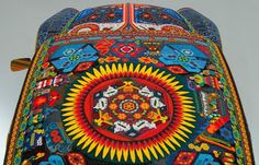 Amazing Huichol Bead Work on Wheels ~ The Beading Gem's Journal. 1990 Volkswagen Beetle. This is called the Vochol - a combination of the Volkswagen with that of the Huichol.