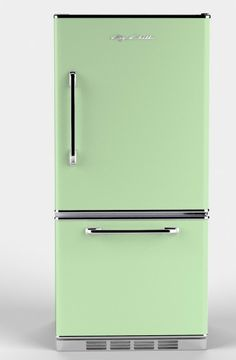 """Big Chill: Retropolitan - 18.5 cu. ft. and only 27-5/8"""" deep.  $3395 (compared to SMEG $2k)"""