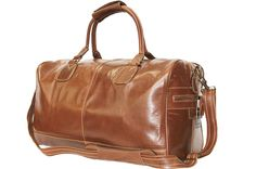 Large Chestnut Brown Real Premium Leather Holdall Duffle Travel Sports Gym Luxury Designer Weekend Bag