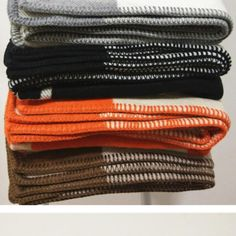 Beige Cotton Knitted  Throw Soft 160 x 160cm Heavy Handmade Sofa Garter Stitch