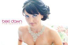 Bridal Hair & Makeup by @Design Visage Beauty by DV Lauren @Beki Dawn Photography