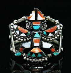 Zuni Knifewing Bracelet
