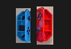 Wall-Mounted Cabinets Turn Your TV Into a Giant Nintendo Switch - Nintendo Switc. Wall-Mounted Cabinets Turn Your TV Into a Giant Nintendo Switch – Nintendo Switch TV Cabinets Video Game Bedroom, Video Game Rooms, Boys Game Room, Boy Room, Game Room Decor, Room Setup, Nintendo Room, Nintendo Dsi, Super Nintendo