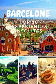 Top 10 des expériences insolites à Barcelone. #Espagne #voyage #Barcelone #expériences #insolites #guide #information