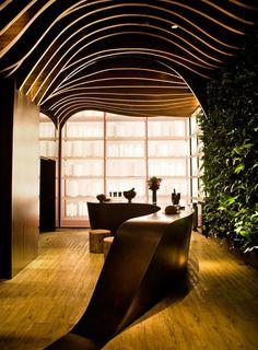 The Most Peculiar Contemporary Kitchen by Fernanda Marques Arquitetos Associados   http://www.designrulz.com/spaces-for-living/2011/12/31876/