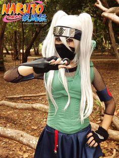 Naruto Kakashi gender bend Kakashi Sensei, Naruto Uzumaki, Cosplay Wigs, Cosplay Dress, Cosplay Outfits, Anime Outfits, Cosplay Costumes, Anime Expo, Cosplay Tutorial