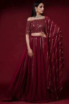 Shop Vvani by Vani Vats Embroidered Gharara Set , Exclusive Indian Designer Latest Collections Available at Aza Fashions Party Wear Indian Dresses, Designer Party Wear Dresses, Indian Gowns Dresses, Indian Bridal Outfits, Dress Indian Style, Indian Fashion Dresses, Indian Designer Outfits, Wedding Outfits, Wedding Dresses