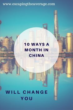 Spending a month in China is an amazing opportunity. If you have the chance to travel to China you will probably acquire these things. #DestinationChina