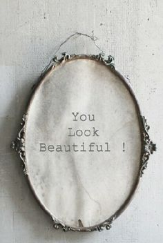 "antique french ornate metal frame beautiful patina acquired over the years great frame for a mirror, picture of just for display good condition with normal wear for age measures 20 "" tall x wide You Look Beautiful, Hello Beautiful, Beautiful Pictures, Shades Of White, 50 Shades, Body Image, French Antiques, Just In Case, Tumblr"
