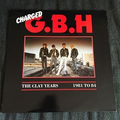 G.B.H. - The Clay Years, 1981 To 84 (Used LP)
