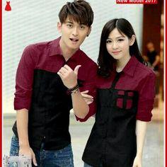Model Seri 067 Fashion Couple Ke http://www.bajumurahgrosiran.com/2017/04/msf0067-baju-couple-kemeja-murah-ferry.html