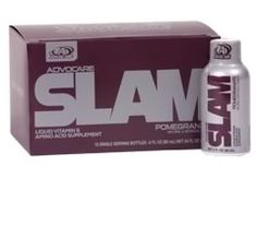 "Advocare Slam Pomegranate is the first of several new product flavors set to be released in Advocare's Launch A Palooza of Summer 2014.   If you have been searching for an alternative to those ""gas station"" energy shots, Advocare Slam is the solution for you.   Advocare Slam not only provides you with a long lasting sustained burst of energy but also will help with your mental focus."